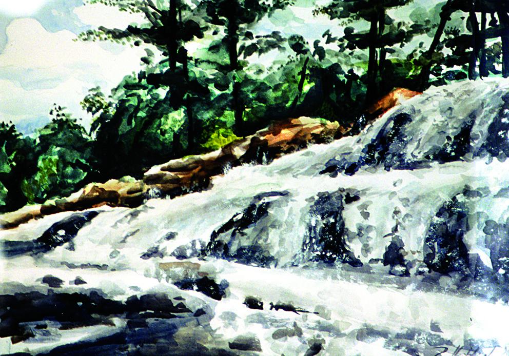 Robert Hettich. Muskoka River