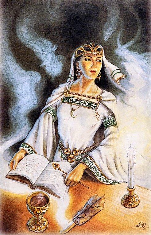 Лиза Хант. Маг, кельтские таро драконов