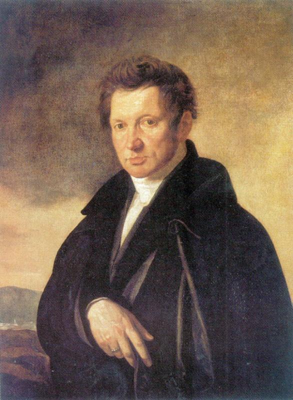 Alexey Egorovich Egorov. Portrait Of A. R. Tomilov