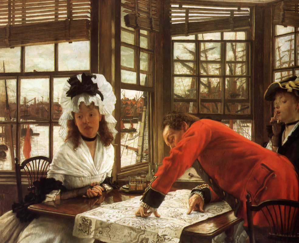 James Tissot. Interesting story