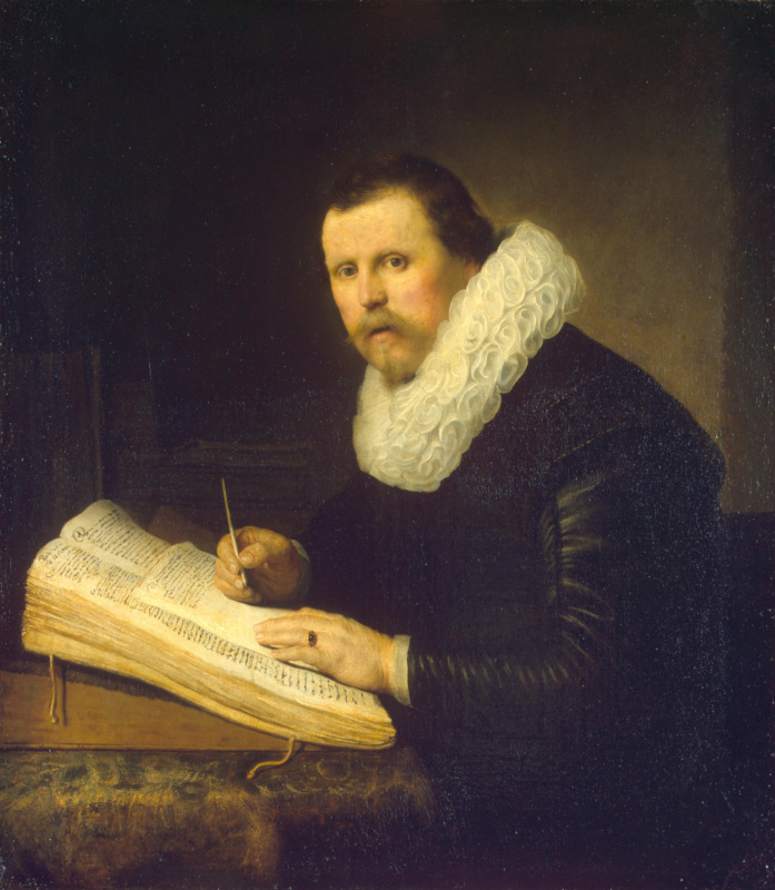 Rembrandt Harmenszoon van Rijn. Portrait of a scientist