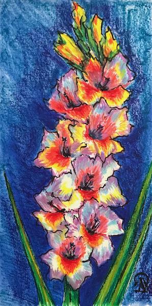 Larissa Lukaneva. Gladiolus