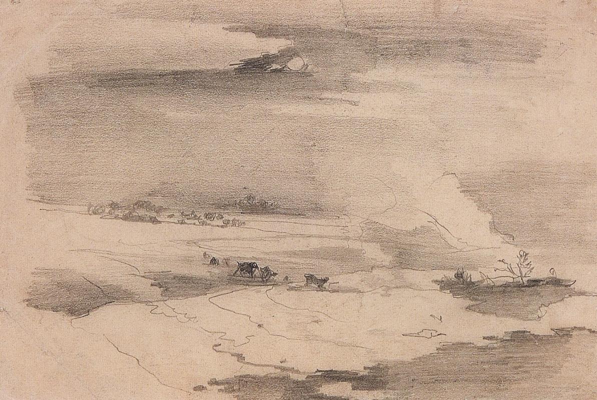 Alexey Savrasov. Spring landscape