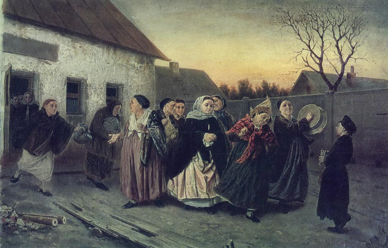 Василий Григорьевич Перов. Накануне девичника