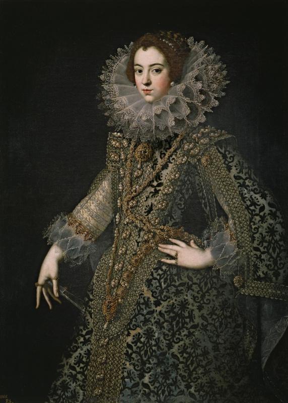 Хуан Пантоха де ла Крус. Изабелла Бурбон, королева Испании, первая жена Филиппа IV