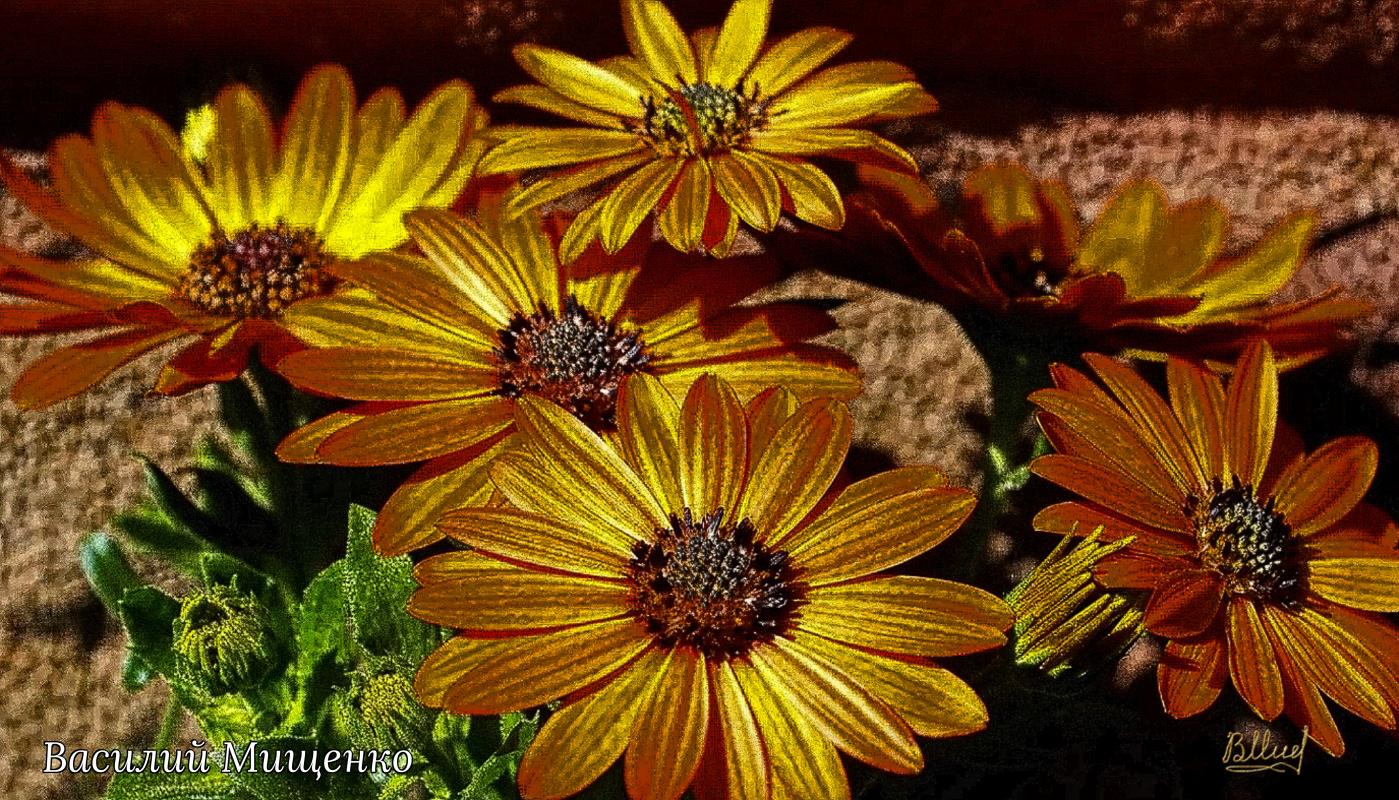 Vasiliy Mishchenko. Flowers 047
