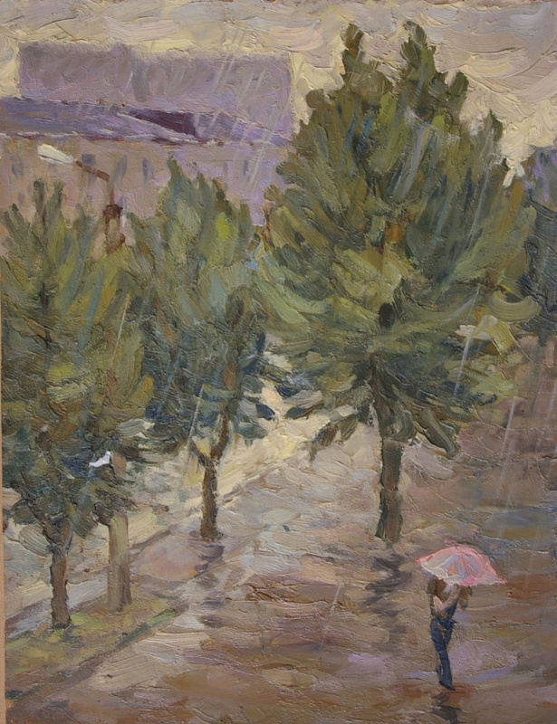 Appman Artist. Rain