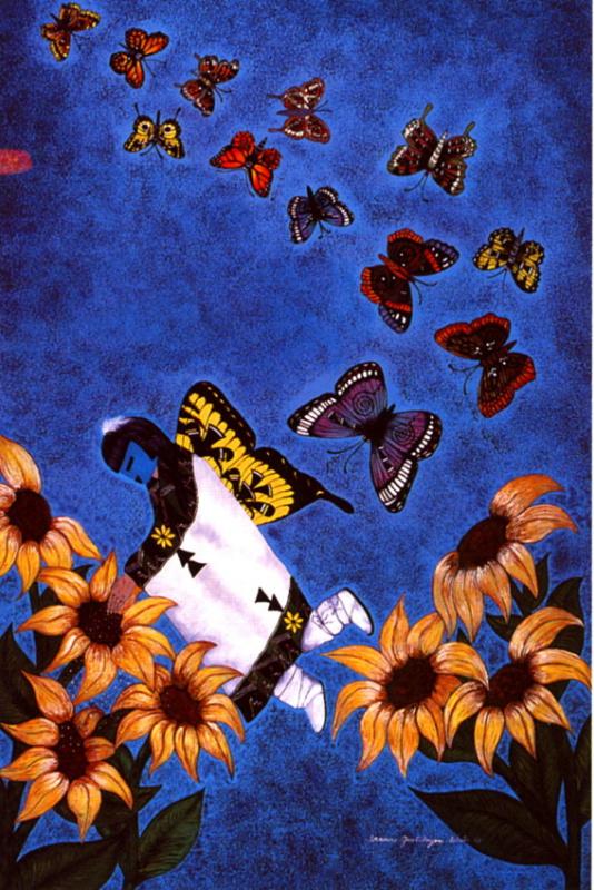 Фрэнсис Вестер. Миграция бабочек