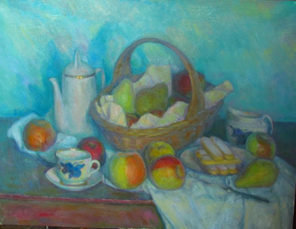 Sergey Alexandrovich Gerasimov. Fruit basket