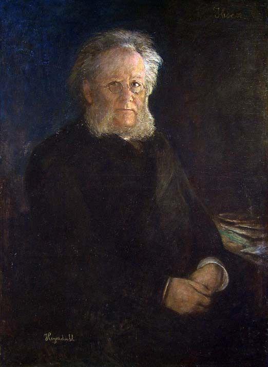 Ханс Хейердал. Поэт Генрик Ибсен
