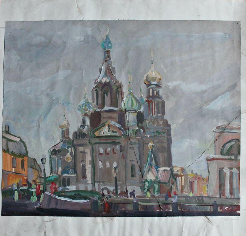 Dmitry Alexandrovich Shuvalov. Church of the Savior on Spilled Blood
