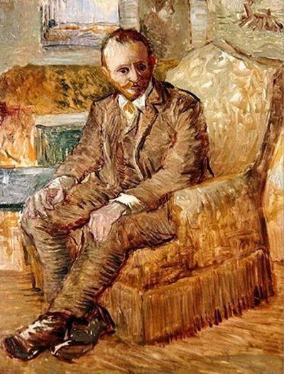 Винсент Ван Гог. Портрет арт-дилера Александра Рида, сидящего в кресле