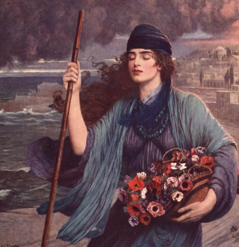 Нидия: слепая девушка Помпеи
