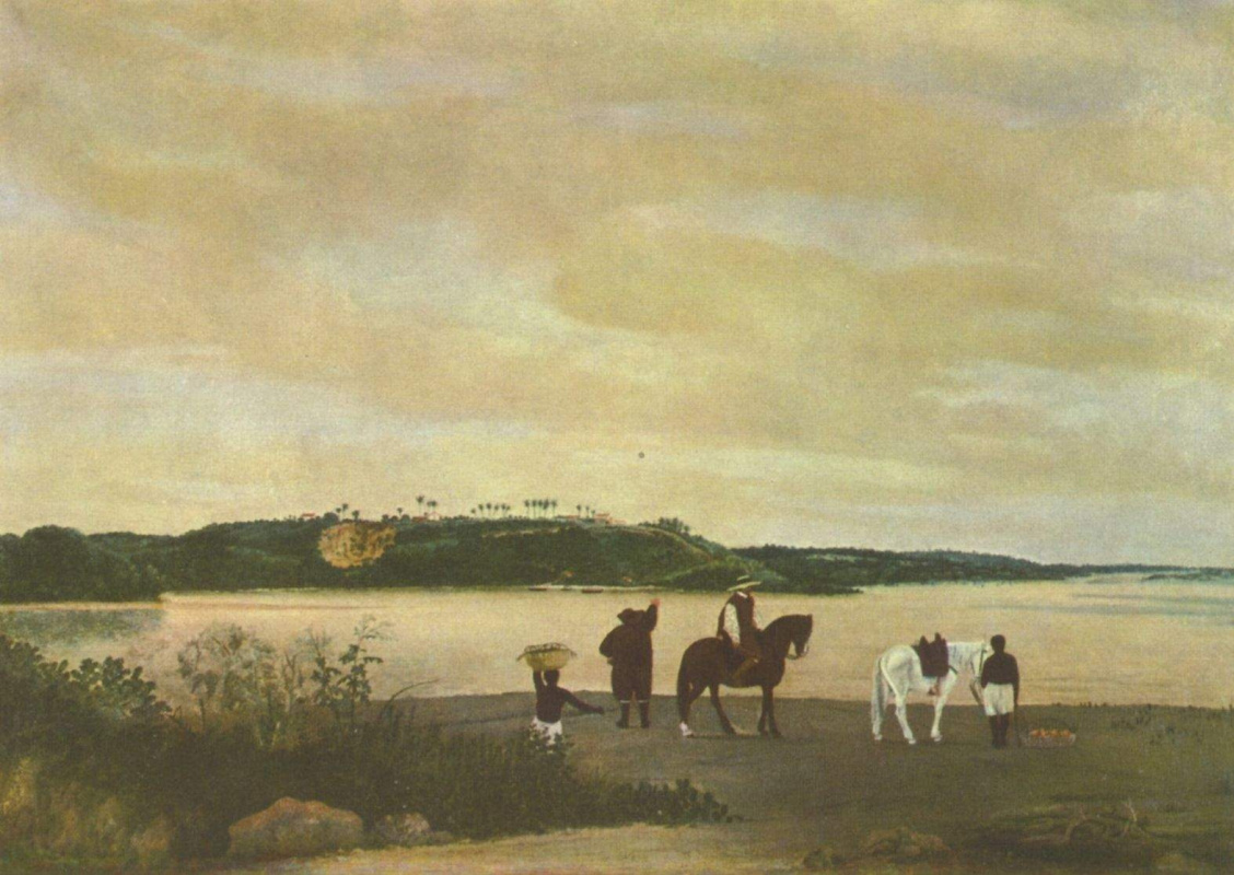 Frans Jans Post. Island Tamarka