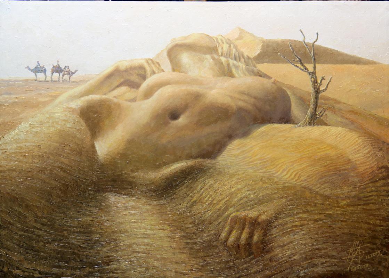 Georgy Ineshin. Caravan of desires