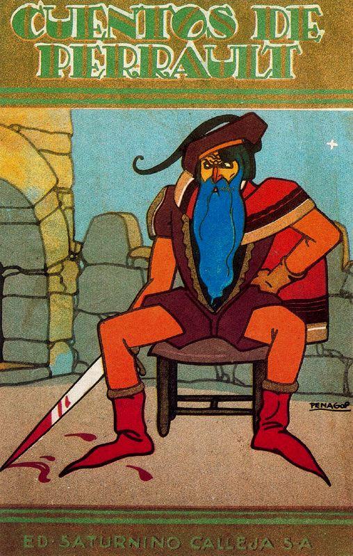 Рафаэль де Пенагос. Синяя борода