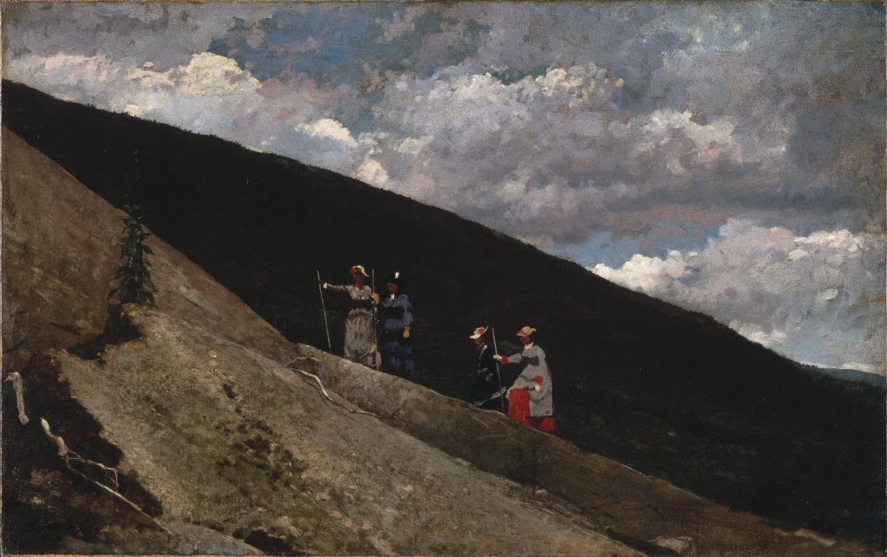 Winslow Homer. In the mountains