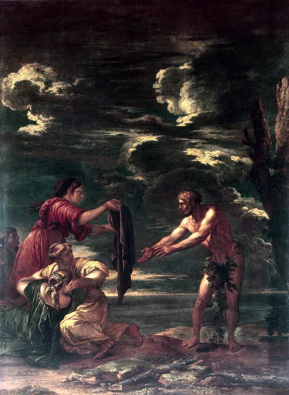Одиссей и Навзикая