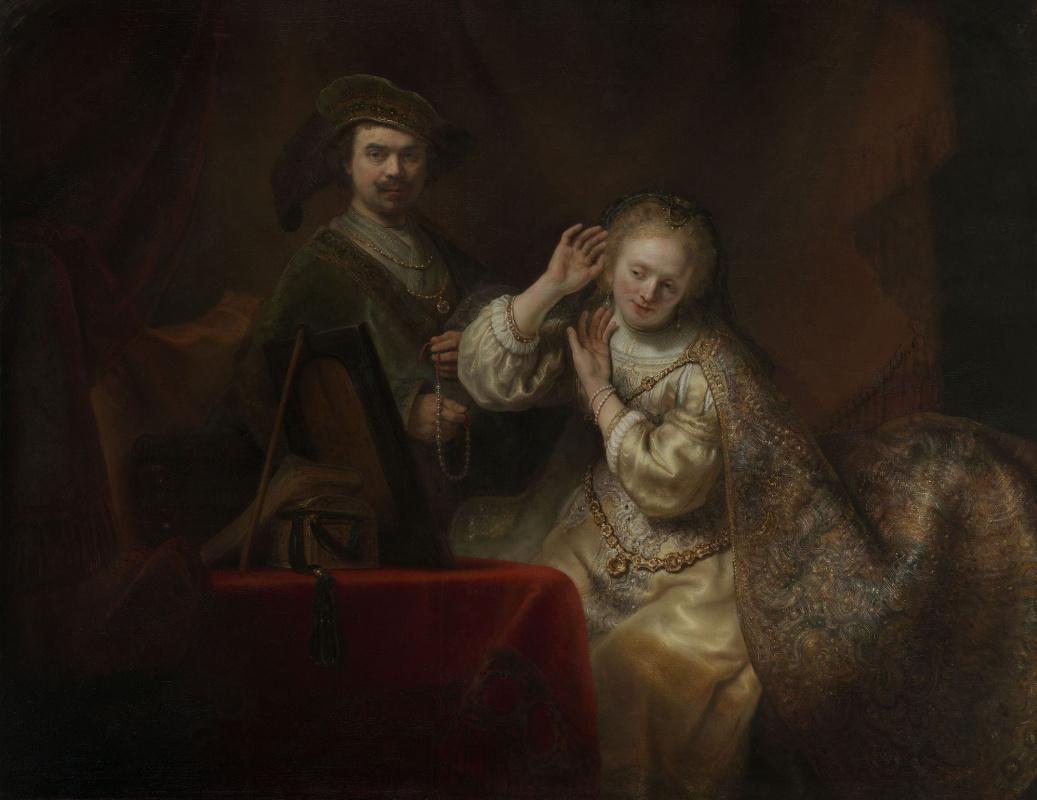 Фердинанд Балтасарс Боль. Рембрандт и его жена Саския