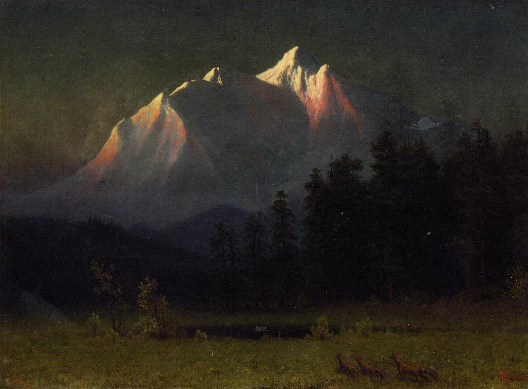 Альберт Бирштадт. Западный пейзаж