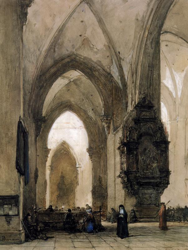 Интерьер церкви в Трире