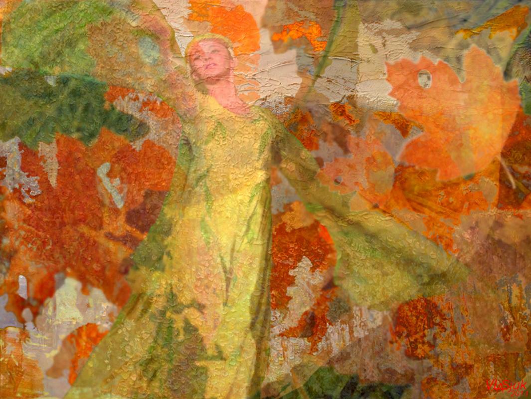 Alexander Ivanovich Vlasyuk. The Dance Of Autumn
