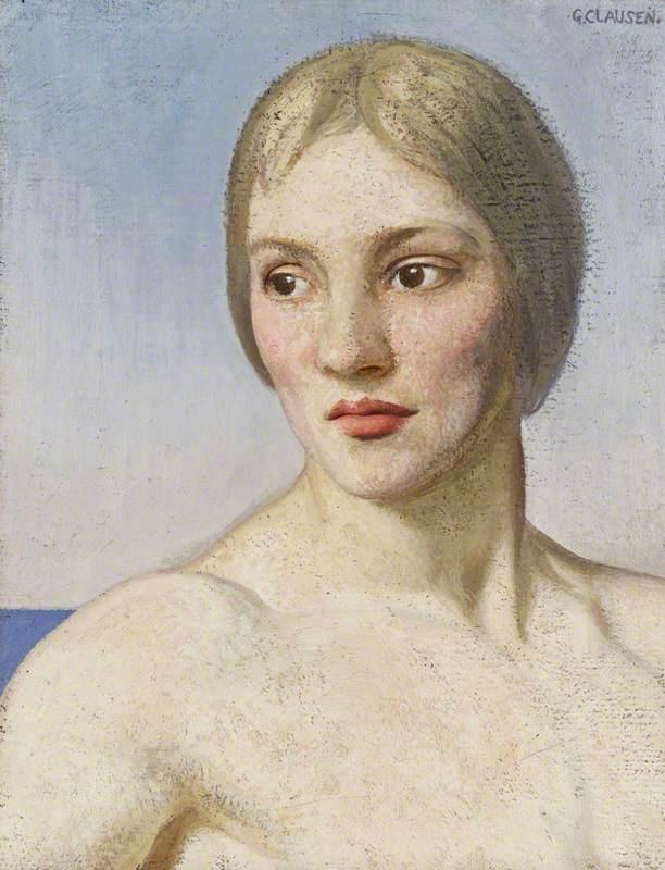 George Clausen. Frida