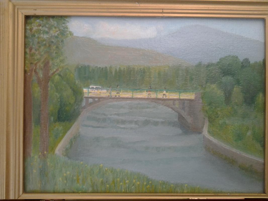 Mihran Mkrtumyan. Armenia, Sisian `Vorotan river