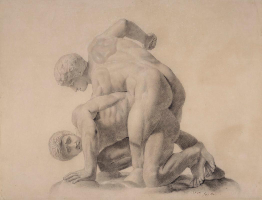 John Everett Millais. Wrestlers (Pankratieva)
