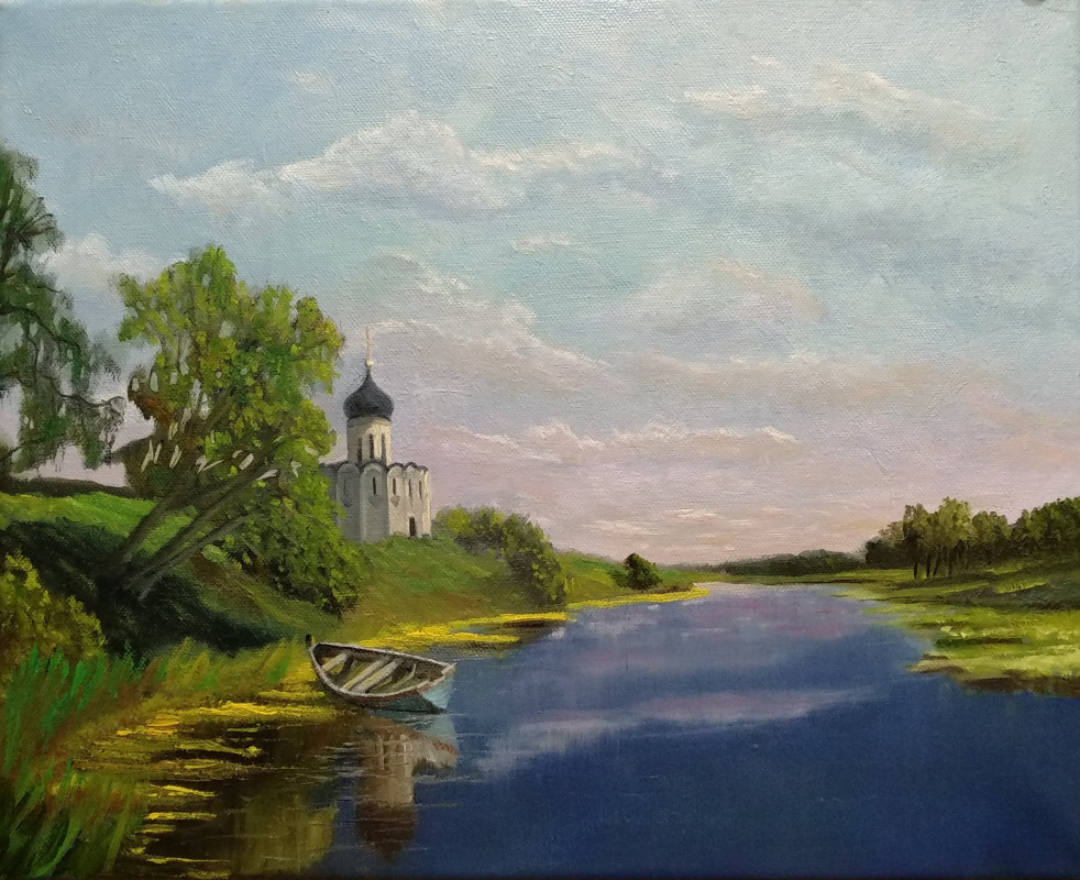Ilya Ivanov. Picture: Church of the Intercession on the Nerla