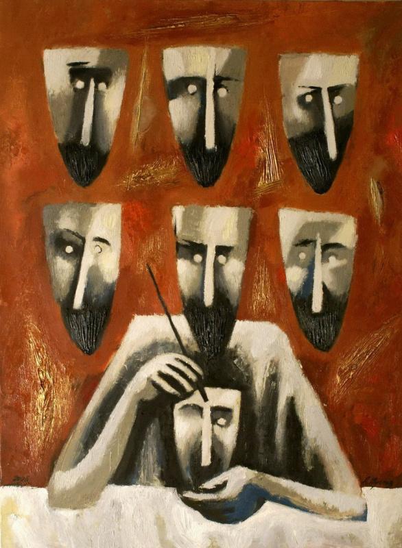 Andrey Anatolyevich Shustov. Seller masks