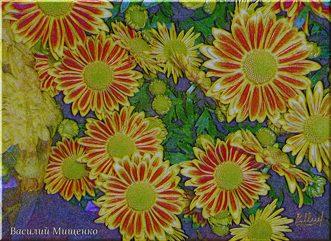 Vasiliy Mishchenko. Flowers 0124