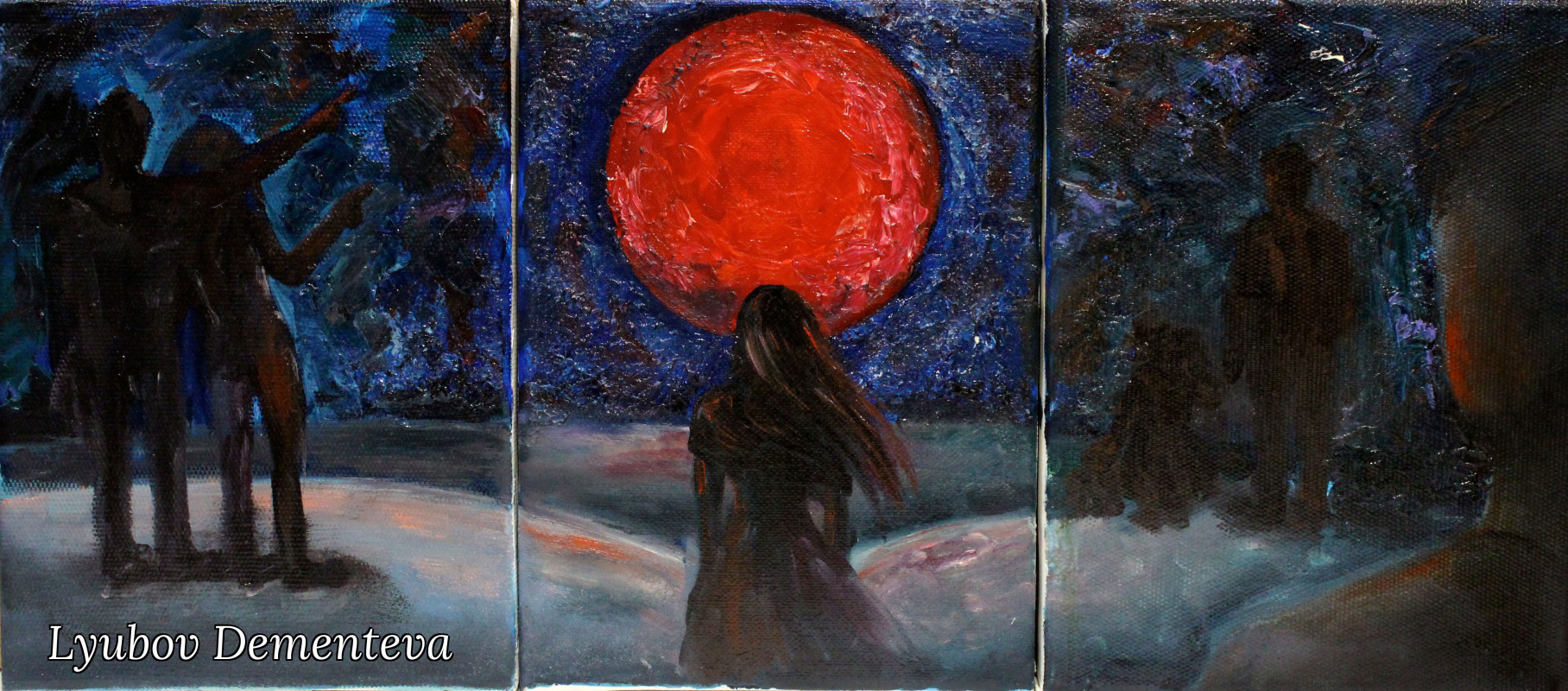 """Lyubov Dementeva. """"Триптих сон о конце света"""""""