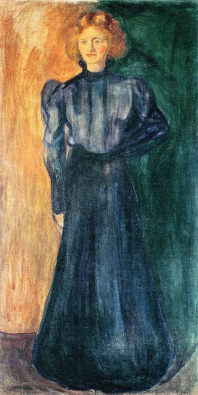 Edvard Munch. Tulla Larsen