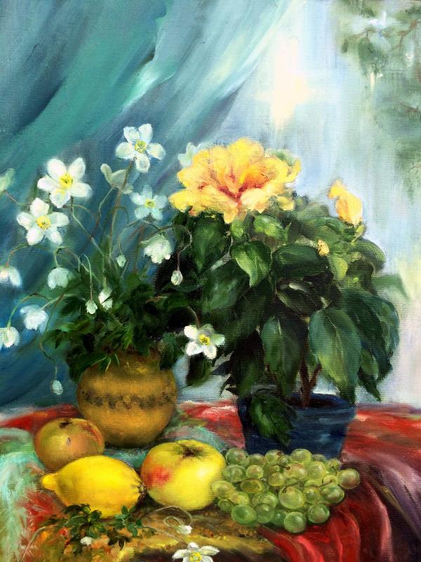 Марина Сенько-Дмитриева. Весенний натюрморт