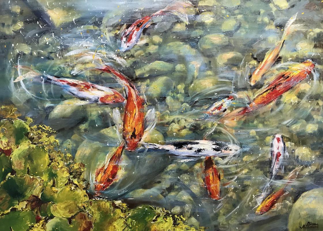 Диана Владимировна Маливани. Pond