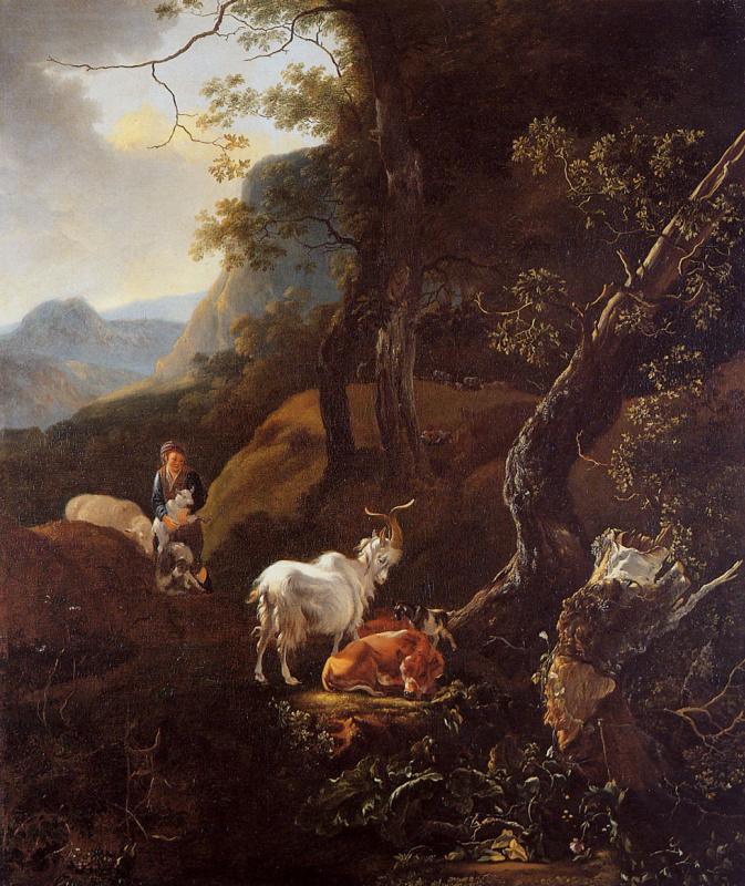 Адам Пайнакер. Молодой пастух