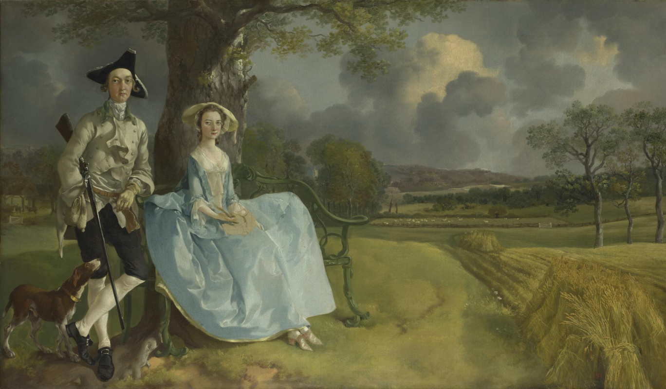 Thomas Gainsborough. Mr and Mrs Andrews