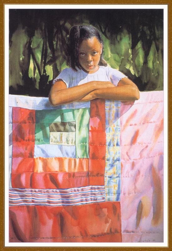 Мария Уайт. Одеяло