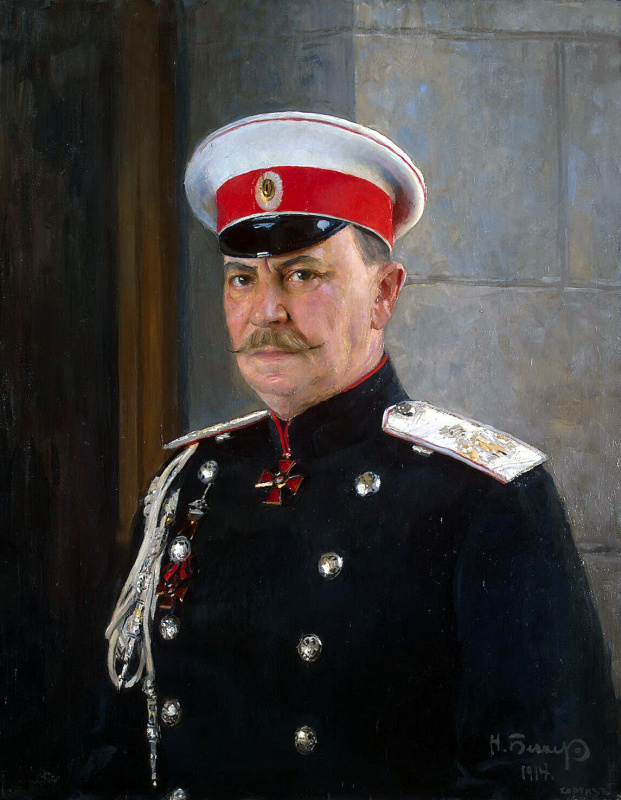 Nicholas Becker. Portrait of Prince Yusupov, count Sumarokov-Elston