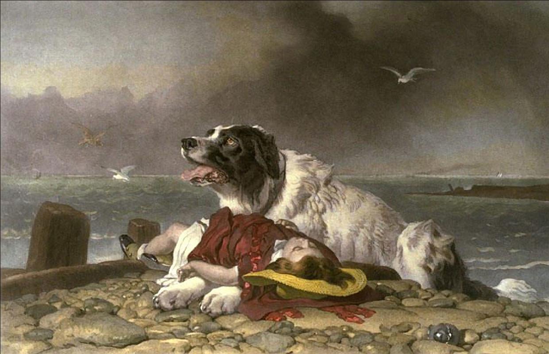 Edwin Henry Landseer. Saved