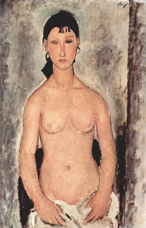 Amedeo Modigliani. Standing Nude (Elvira)