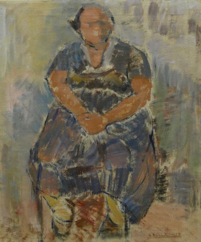 Абрам Валковиц. Портрет матери