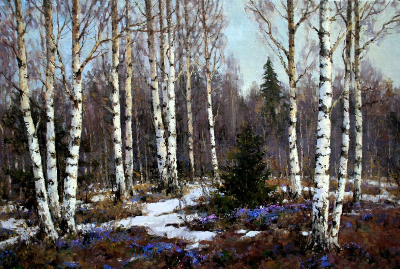 Alexander Markovich Kremer. Spring day