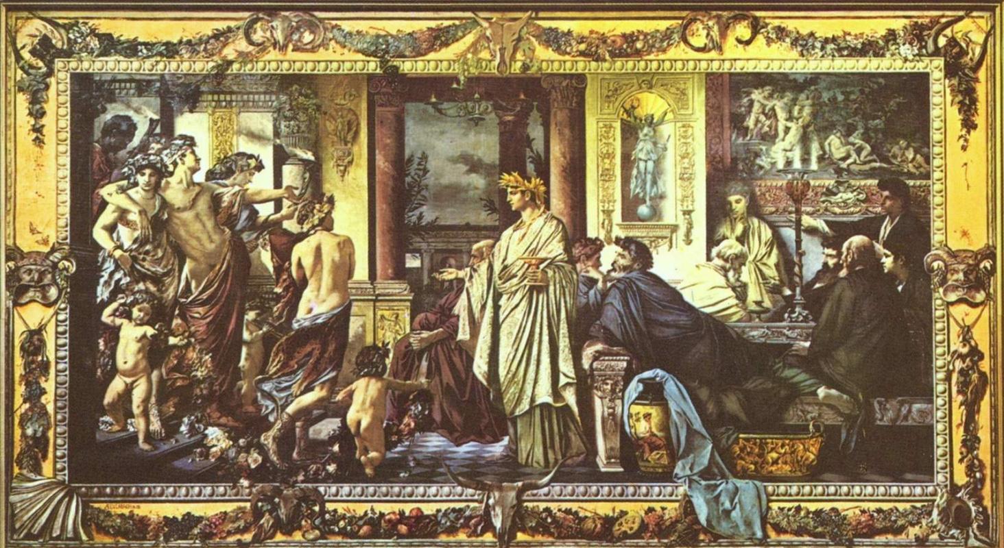 Ансельм Фридрих Фейербах. Пир Платона
