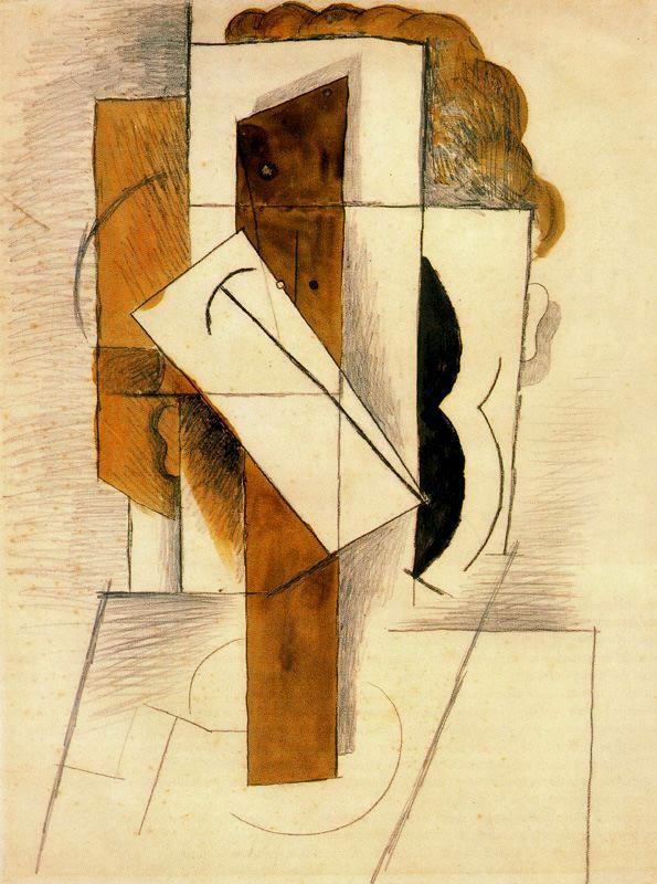 Пабло Пикассо. Голова