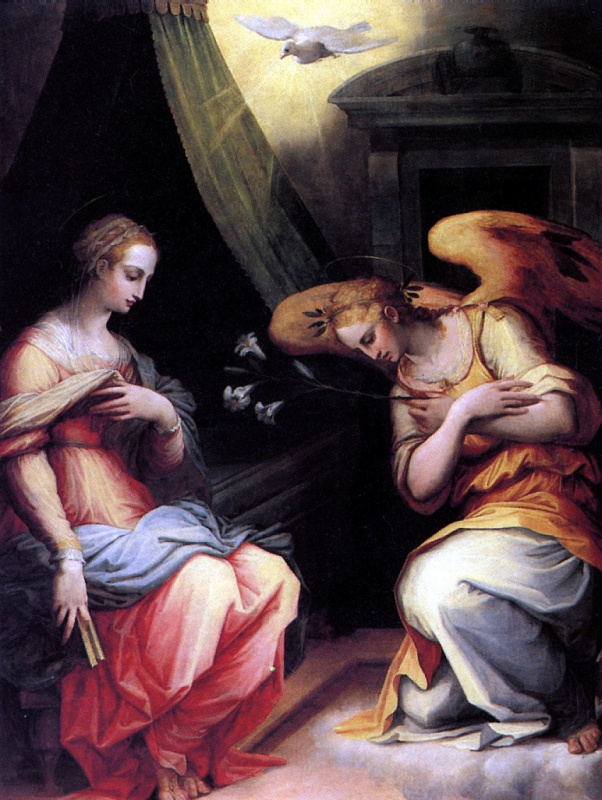 Giorgio Vasari. The Annunciation