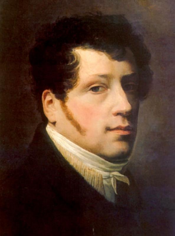 Sylvester Feodosievich Shchedrin. Self-portrait