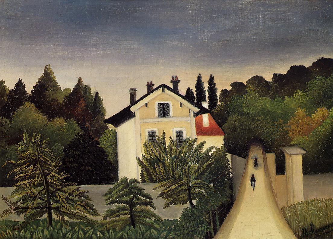 Анри Руссо. Дом на окраине Парижа