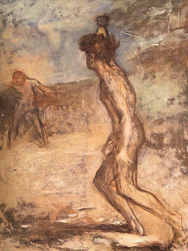 Эдгар Дега. Давид и Голиаф